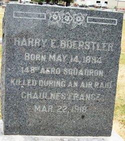 Harry E. Boerstler