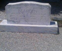 Isabella H. <i>Woody</i> Bearden