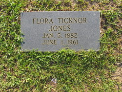Flora <i>Ticknor</i> Jones