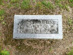 Omie <i>Gibbs</i> Wilson