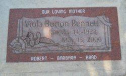 Viola <i>Burton</i> Bennett