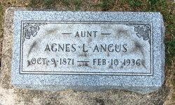 Agnes L Angus