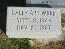 Sally Ann <i>Hamilton</i> Wood