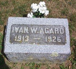 Ivan W Agard