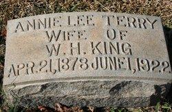 Annie Lee <i>Terry</i> King