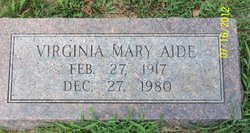 Virginia Mary Aide