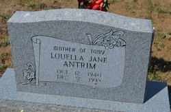 Louella Jane Antrim