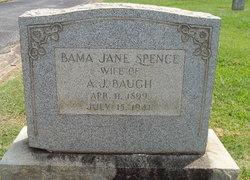 Alabama Jane <i>Spence</i> Baugh