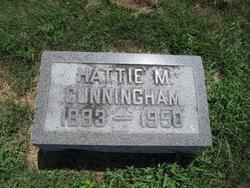 Harriett Mae Hattie <i>Bingham</i> Cunningham