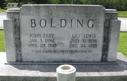 John Erby Bolding