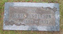 Albin E Anderson