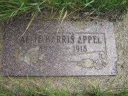 Allie <i>Harris</i> Appel