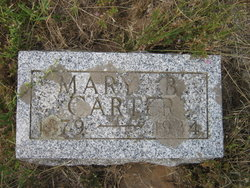 Mary Belle <i>Ledgerwood</i> Carter