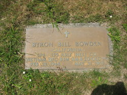 Spec Byron Bill Bowden