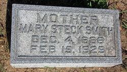Mary <i>Steck</i> Smith