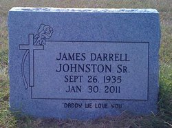 James Darrell Johnston, Sr