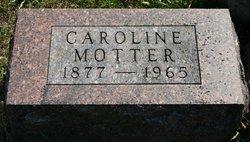 Caroline Kinzer Carrie <i>Speiser</i> Motter