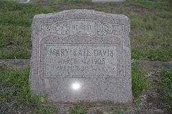 Mary Kate <i>Raye</i> Davis