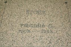 Lousina Virginia Vee <i>Calebaugh</i> Stoer