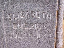 Elisabeth <i>Johnson</i> Emerick