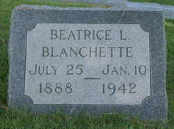 Beatrice Louise <i>Martin</i> Blanchette