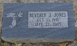 Beverly Jean Bev <i>Pettit</i> Jones