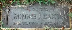 Minnie Ida <i>Finnacom</i> Baxter