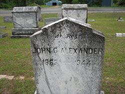 John G Alexander