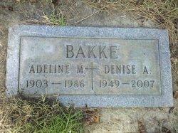 Adeline Marie <i>Dischler</i> Bakke