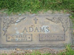 Neola Musetta <i>Hicks</i> Adams