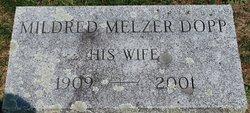 Mildred <i>Melzer</i> Dopp