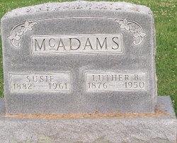 Luther B Lute McAdams