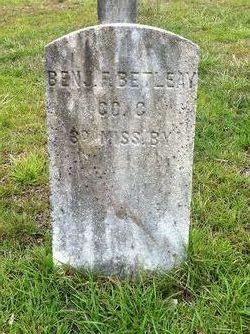 Pvt Benjamin F. Bethany