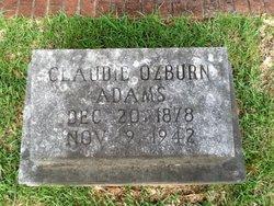 Claudie <i>Ozburn</i> Adams