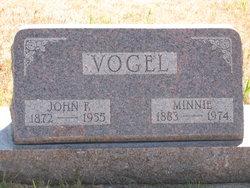 Wilhelmina Minnie <i>Rehder</i> Vogel