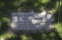 Anna <i>Hobbs</i> Harwood