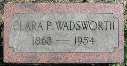 Clara Pearl <i>Yates</i> Wadsworth