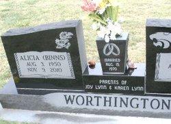 Alicia <i>Binns</i> Worthington