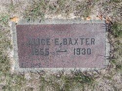 Alice E. <i>Harper</i> Baxter