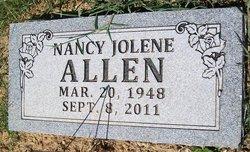 Nancy Jolene Allen