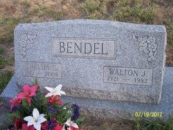 Walton J Bendel