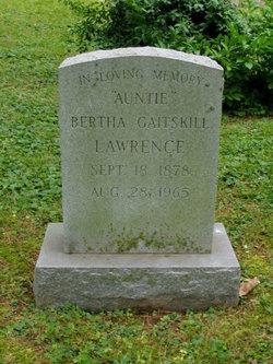 Bertha <i>Gaitskill</i> Lawrence