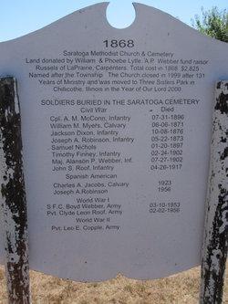 Saratoga United Methodist Cemetery