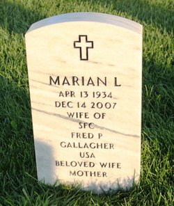 Marian Louise <i>Mueller</i> Gallagher