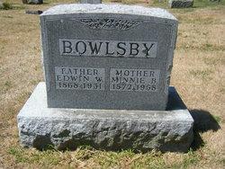 Edwin W Bowlsby