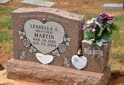 Lendella Louise <i>Bratcher</i> Martin
