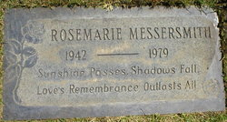 Rosemarie McLaughlin Messersmith