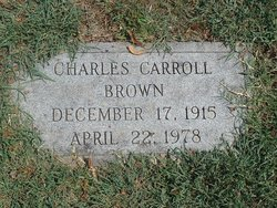 Charles Carroll Brown