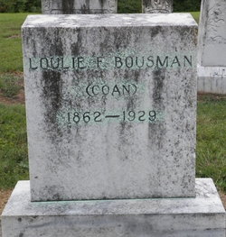 Louise F. Loulie <i>Coan</i> Bousman