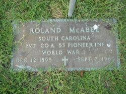 Roland McAbee, Sr